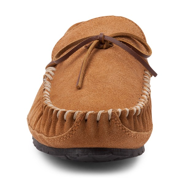 alternate view Mens Minnetonka Casey Slipper - CinnamonALT4