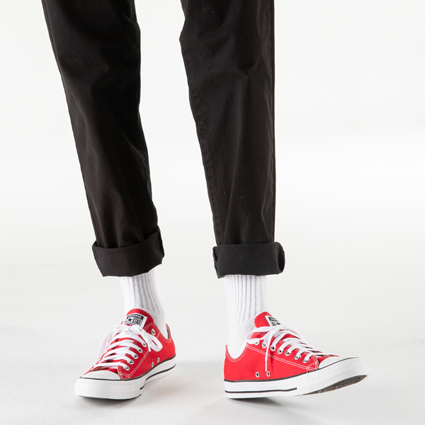 alternate view Converse Chuck Taylor All Star Lo Sneaker - RedB-LIFESTYLE1
