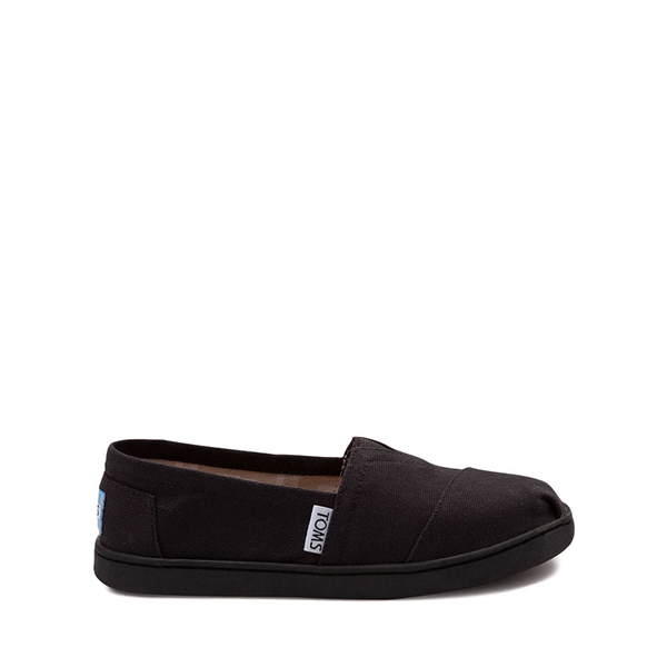 Main view of TOMS Classic Slip On Casual Shoe - Little Kid / Big Kid - Black