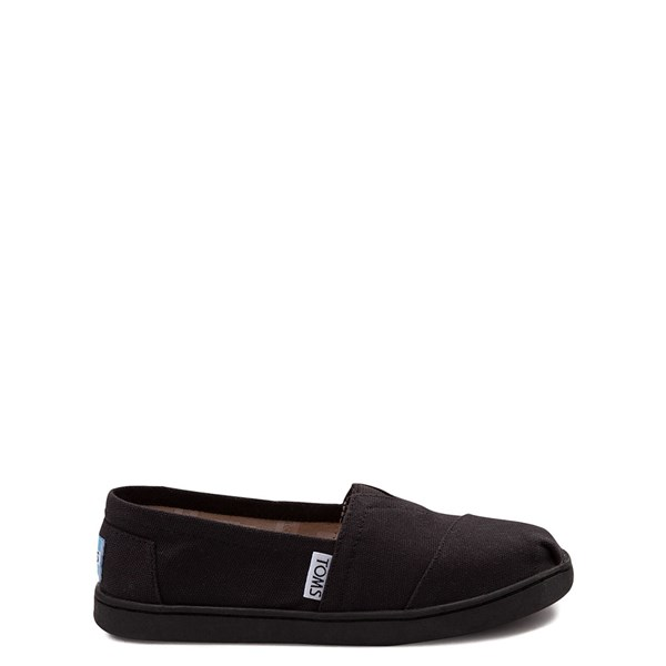 TOMS Classic Slip On Casual Shoe - Little Kid / Big Kid - Black