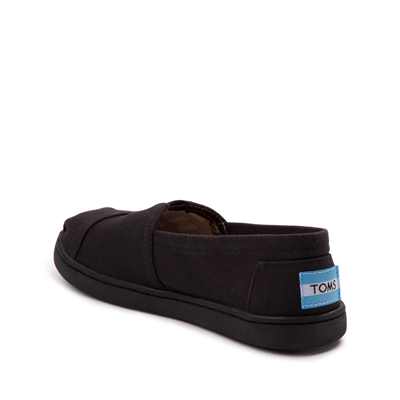 Alternate view of TOMS Classic Slip On Casual Shoe - Little Kid / Big Kid - Black