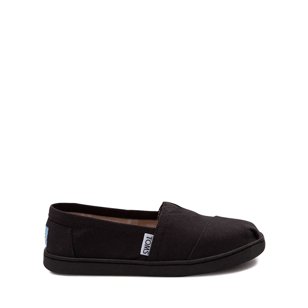 TOMS Classic Slip On Casual Shoe - Little Kid / Big Kid - Black