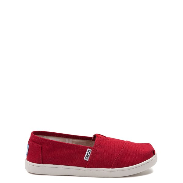 TOMS Classic Slip On Casual Shoe - Little Kid / Big Kid - Red