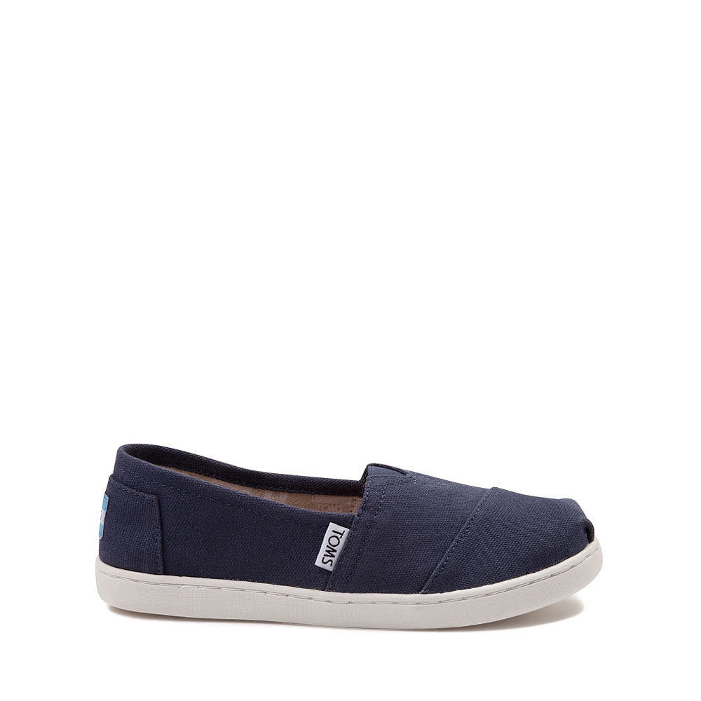 TOMS Classic Slip On Casual Shoe - Little Kid / Big Kid - Blue