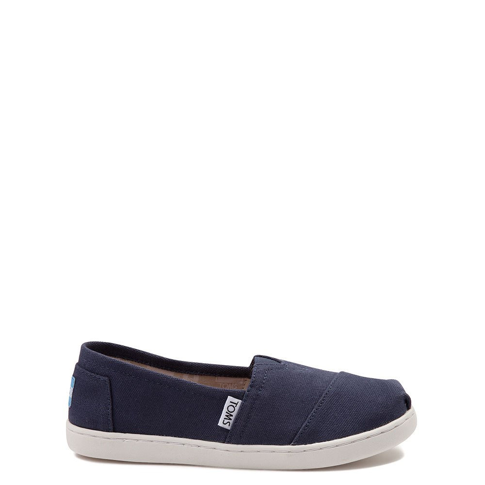 TOMS Classic Slip On Casual Shoe - Little Kid / Big Kid - Blue