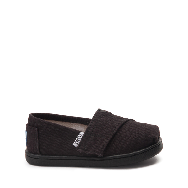 Main view of TOMS Classic Slip On Casual Shoe - Baby / Toddler / Little Kid - Toddler - Black