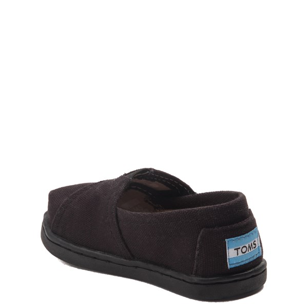 alternate view TOMS Classic Slip On Casual Shoe - Baby / Toddler / Little Kid - Toddler - BlackALT2