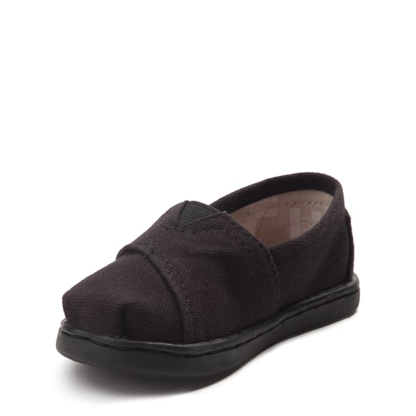 alternate view TOMS Classic Slip On Casual Shoe - Baby / Toddler / Little Kid - Toddler - BlackALT3