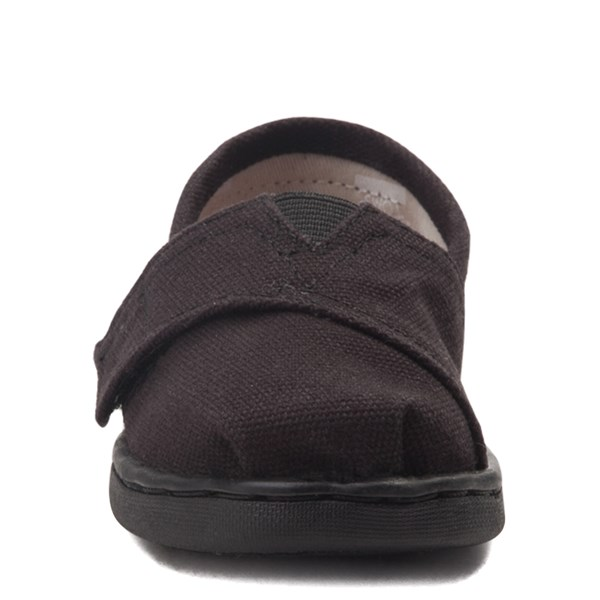 alternate view TOMS Classic Slip On Casual Shoe - Baby / Toddler / Little Kid - Toddler - BlackALT4
