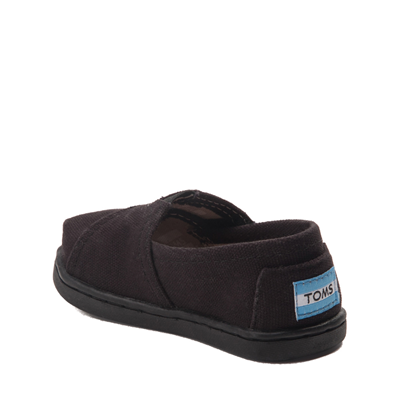 Alternate view of TOMS Classic Slip On Casual Shoe - Baby / Toddler / Little Kid - Toddler - Black