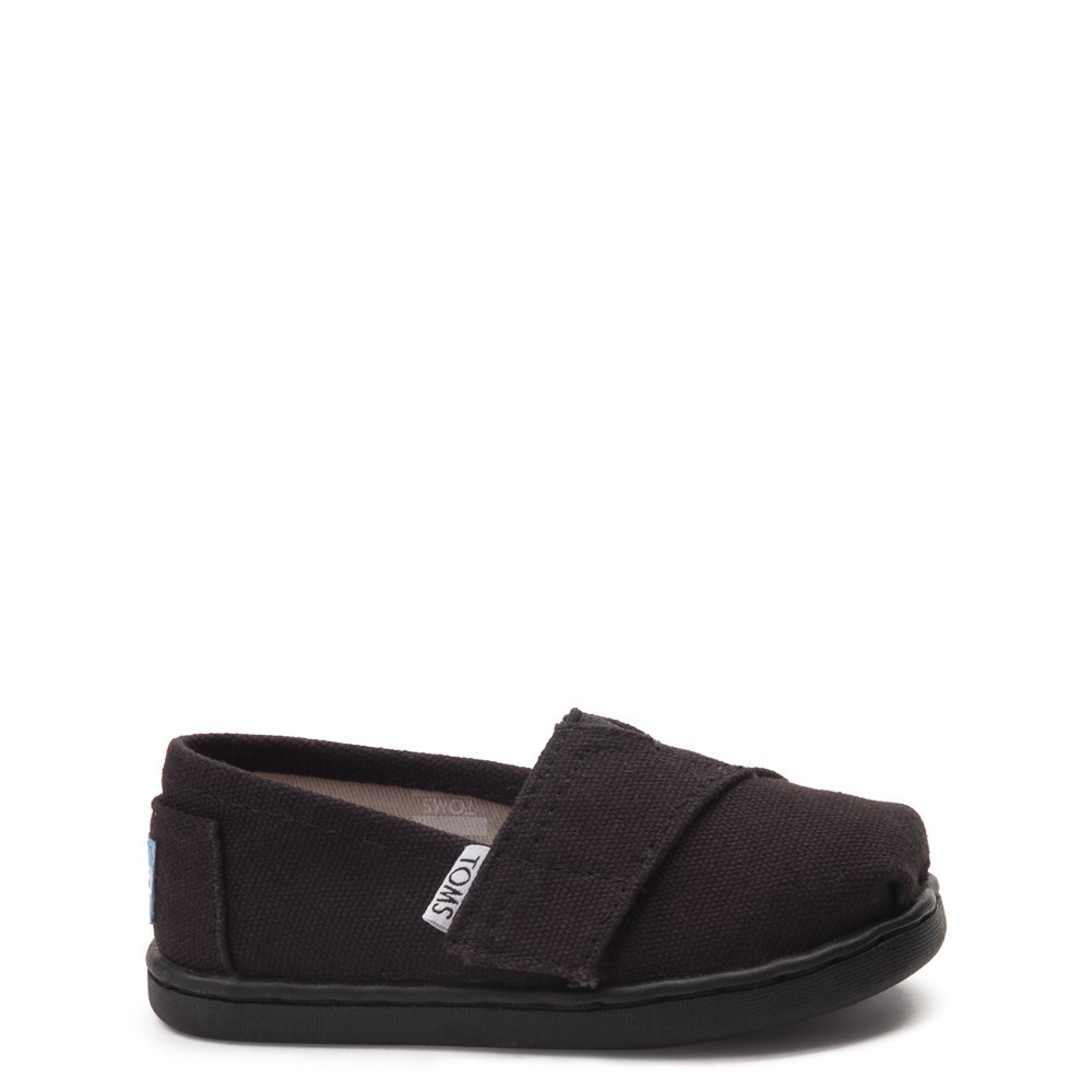 TOMS Classic Slip On Casual Shoe - Baby / Toddler / Little Kid - Toddler - Black