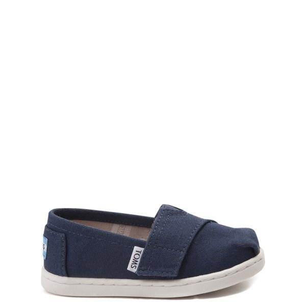 Main view of TOMS Classic Slip On Casual Shoe - Baby / Toddler / Little Kid - Blue