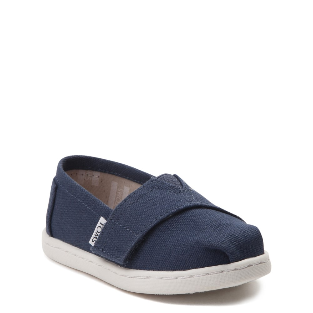 bf0a5c0ab alternate view TOMS Classic Slip On Casual Shoe - Baby / Toddler / Little  KidALT1