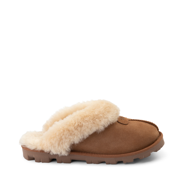 Main view of Womens UGG® Coquette Slipper - Chestnut