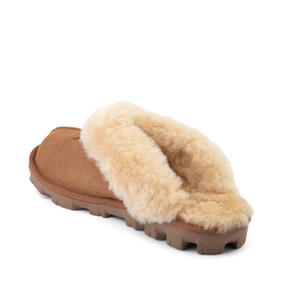 Alternate view of Womens UGG® Coquette Slipper - Chestnut