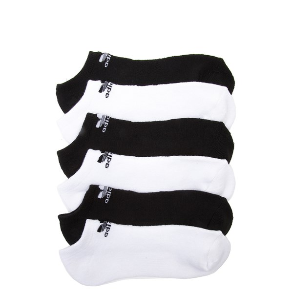 adidas No Show Socks 6 Pack - Big Kid