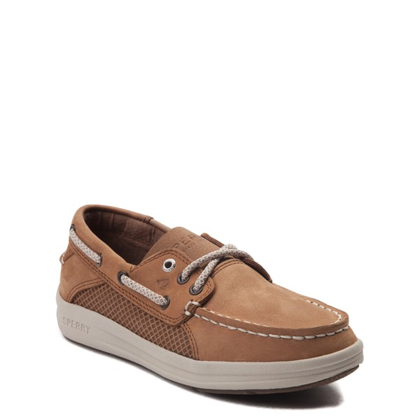 alternate view Sperry Top-Sider Gamefish Boat Shoe - Little Kid / Big Kid - TanALT5