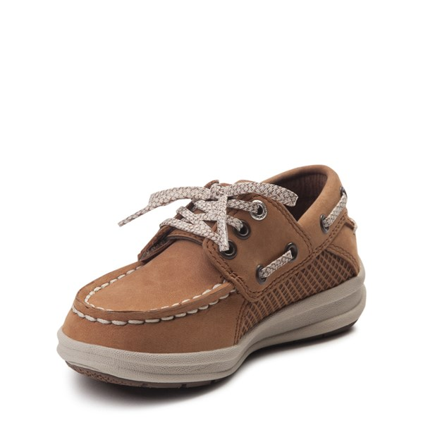alternate view Sperry Top-Sider Gamefish Boat Shoe - Toddler / Little Kid - TanALT3