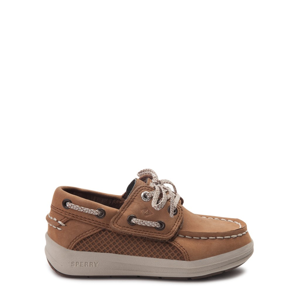 Sperry Top-Sider Gamefish Boat Shoe - Toddler / Little Kid - Tan