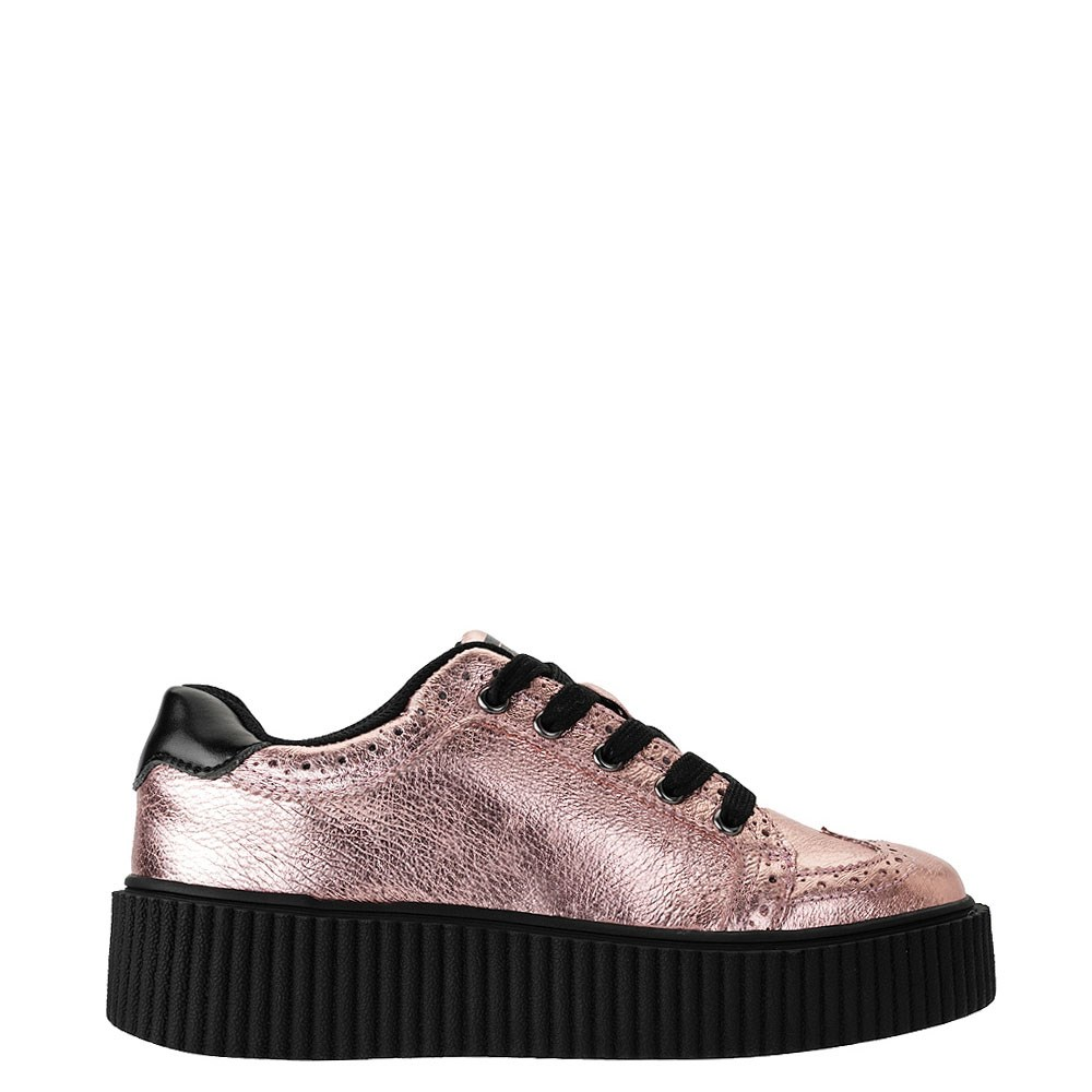Womens T.U.K. Wingtip Casbah Creeper Casual Shoe