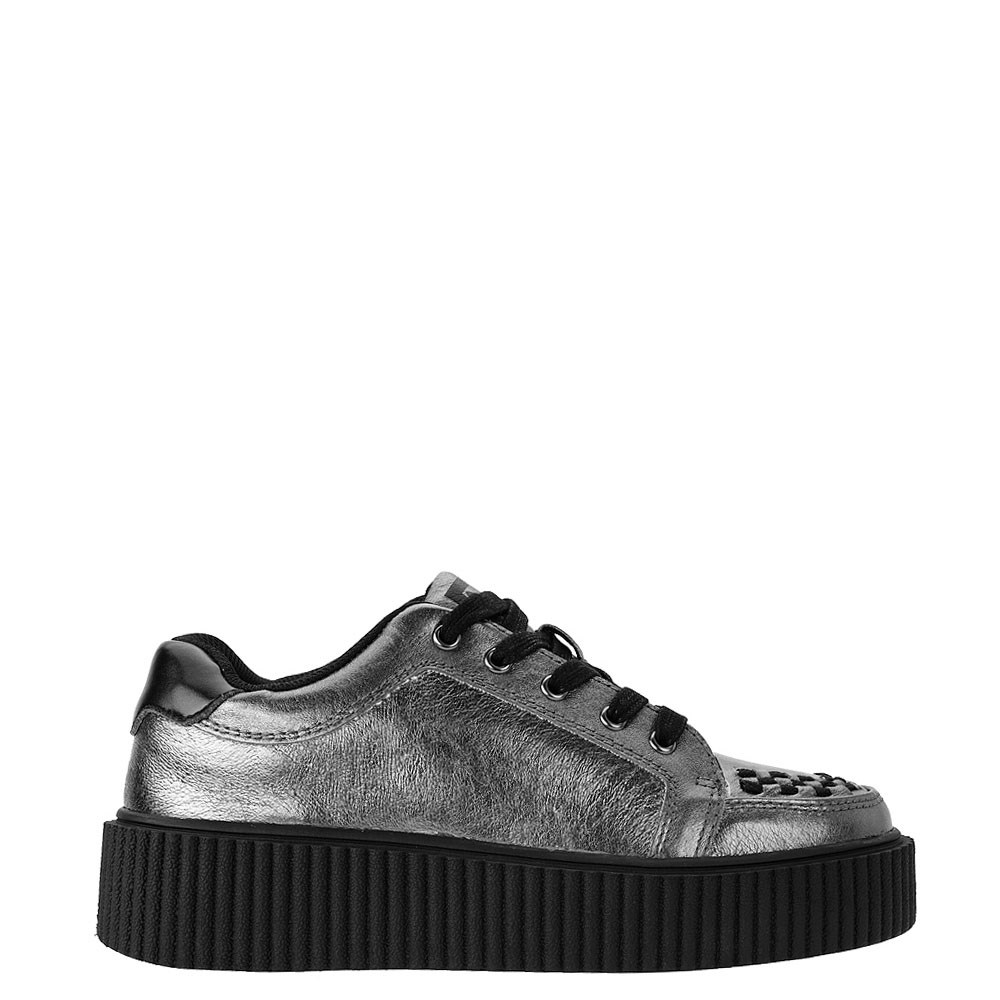 Womens T.U.K. Casbah Creeper Casual Platform Shoe