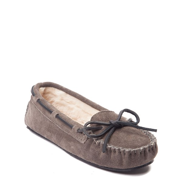 alternate view Womens Minnetonka Cally Casual Shoe - GrayALT1