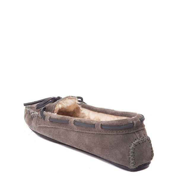 alternate view Womens Minnetonka Cally Casual Shoe - GrayALT2