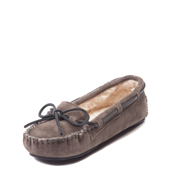 alternate view Womens Minnetonka Cally Casual Shoe - GrayALT3