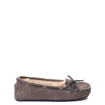 Main view of Womens Minnetonka Cally Casual Shoe - Gray