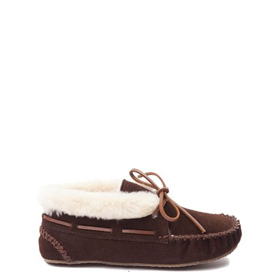 Main view of Womens Minnetonka Chrissy Bootie - Chocolate