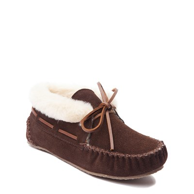 Alternate view of Womens Minnetonka Chrissy Bootie - Chocolate