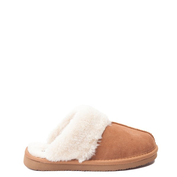 Womens Minnetonka Chesney Slipper - Cinnamon