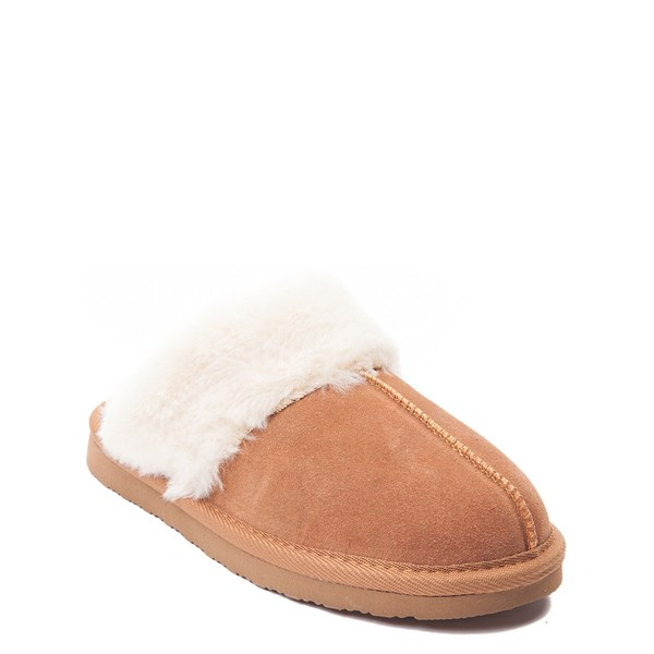 alternate view Womens Minnetonka Chesney Slipper - CinnamonALT1