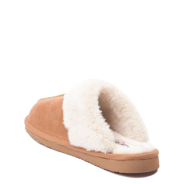 alternate view Womens Minnetonka Chesney Slipper - CinnamonALT2