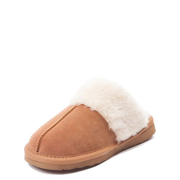 alternate view Womens Minnetonka Chesney Slipper - CinnamonALT3