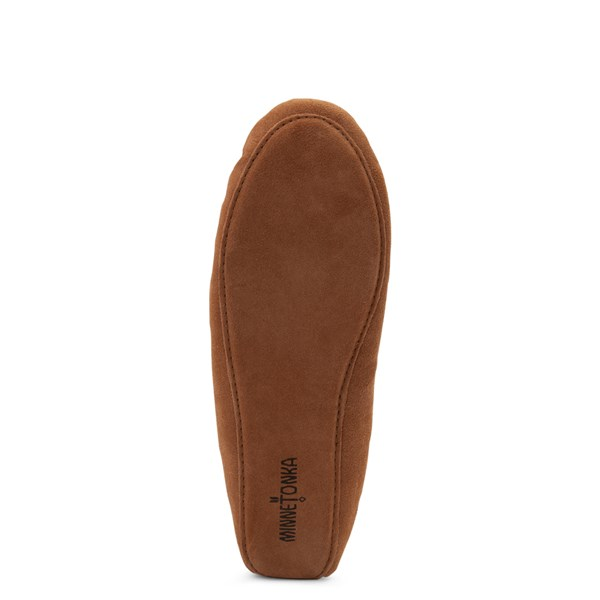 alternate view Mens Minnetonka Sheepskin Softsole Moccasin Slipper - TanALT5