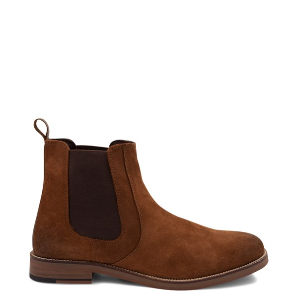 Main view of Mens Crevo Denham Chelsea Boot - Chestnut