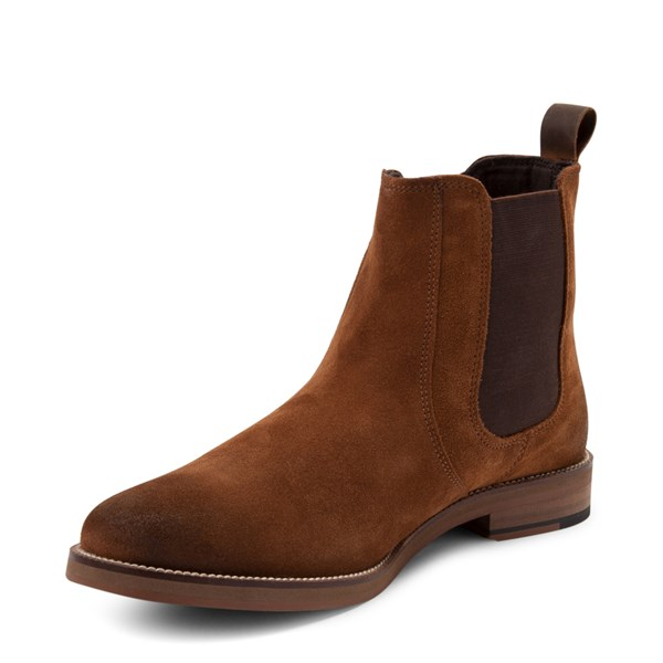 alternate view Mens Crevo Denham Chelsea Boot - ChestnutALT3