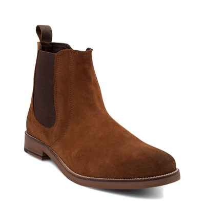 Alternate view of Mens Crevo Denham Chelsea Boot - Chestnut