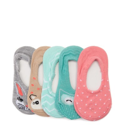 Main view of Girls Crib Critter Liners 5 Pack