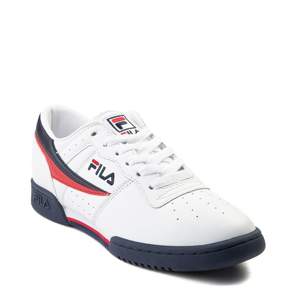 alternate view Mens Fila Original Fitness Athletic Shoe - WhiteALT1