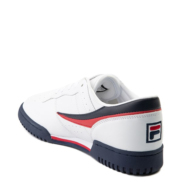 alternate view Mens Fila Original Fitness Athletic Shoe - WhiteALT2