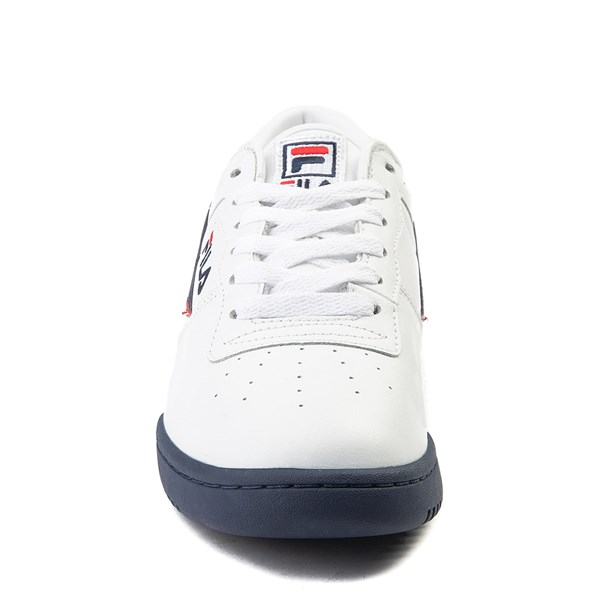 alternate view Mens Fila Original Fitness Athletic Shoe - WhiteALT4
