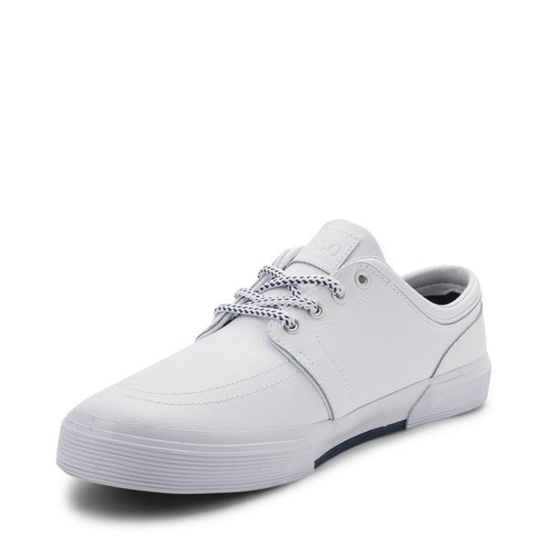 alternate view Mens Faxon Casual Shoe by Polo Ralph Lauren - WhiteALT2
