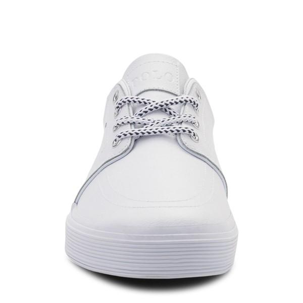 alternate view Mens Faxon Casual Shoe by Polo Ralph Lauren - WhiteALT4