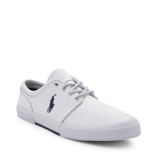 alternate view Mens Faxon Casual Shoe by Polo Ralph Lauren - WhiteALT5