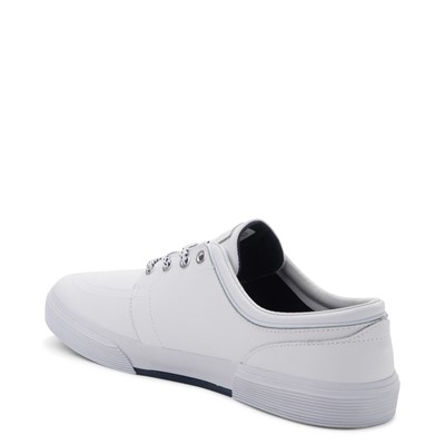 Alternate view of Mens Faxon Casual Shoe by Polo Ralph Lauren - White