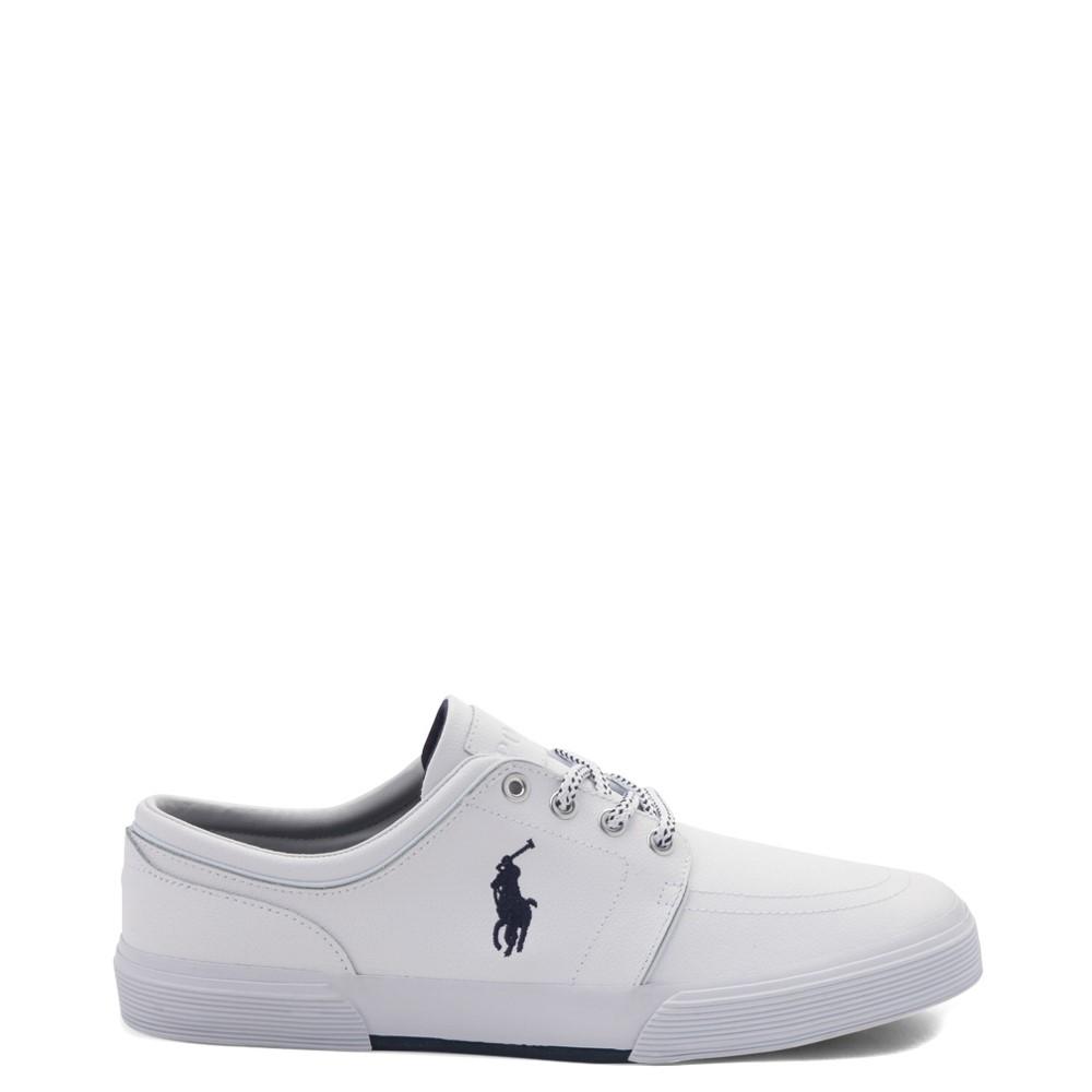 Mens Faxon Casual Shoe by Polo Ralph Lauren - White