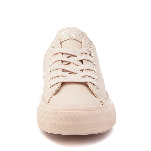 alternate view Converse Chuck Taylor All Star Lo Leather Sneaker - Ivory CreamALT4