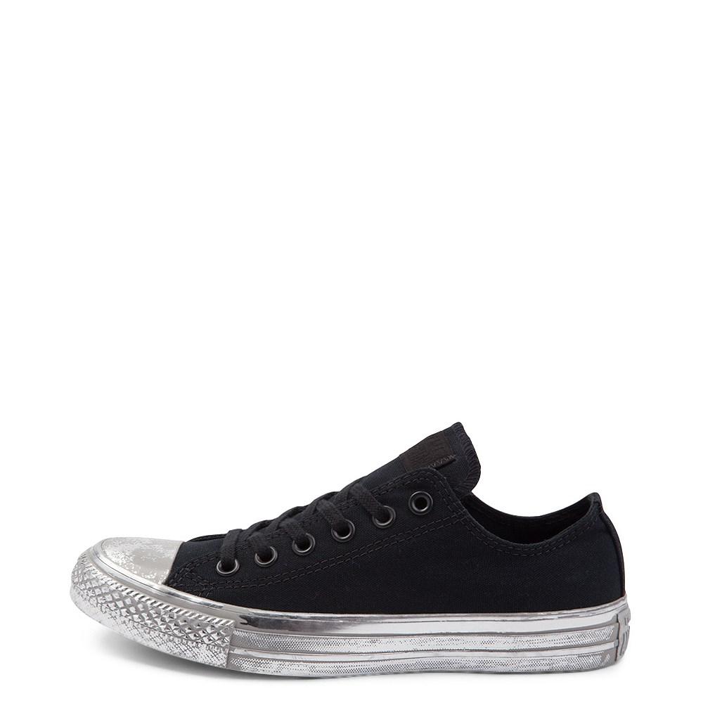 Converse Chuck Taylor All Star Lo Distressed Metallic Midsole Sneaker